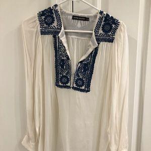 ANTIK BATIK embroidered shirt